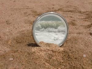 El mar dins d'una circumferència
