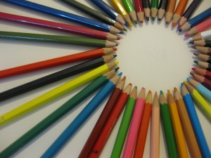 Circumferència de colors