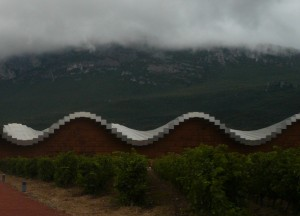 Sinusoide pixelada en terra de vins