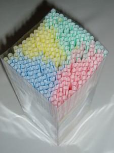 Cilindres de color omplint el prisma