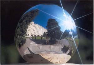 Reflexes en una esfera rediant