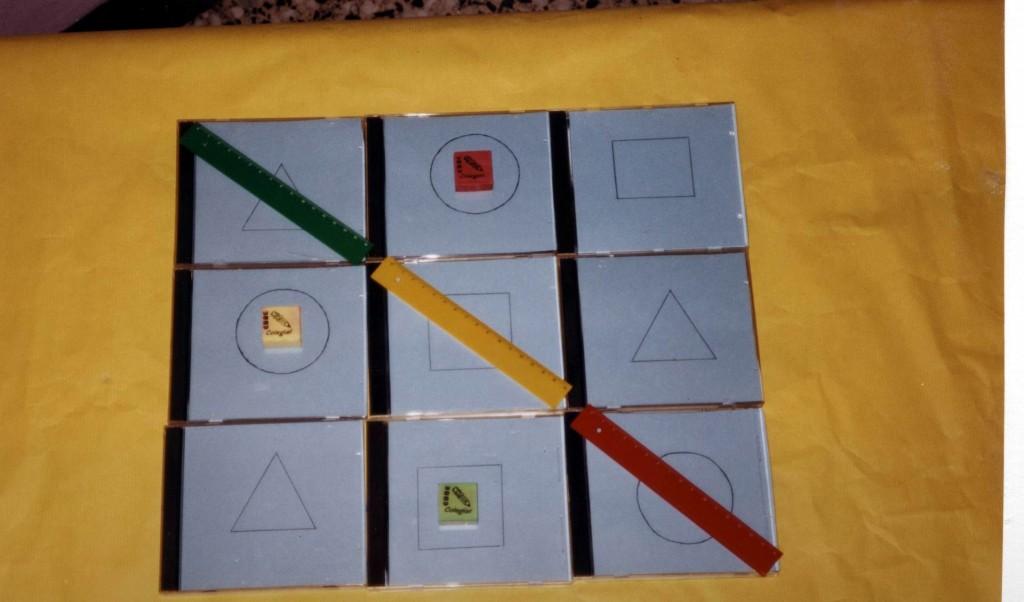 Títol: Joc: 3 en ratlla Autor: Categoria: Primària (accèssit) Any: 2004 Centre: Roig Tesalia