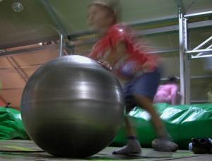 Espera que estic jugant amb l'esfera