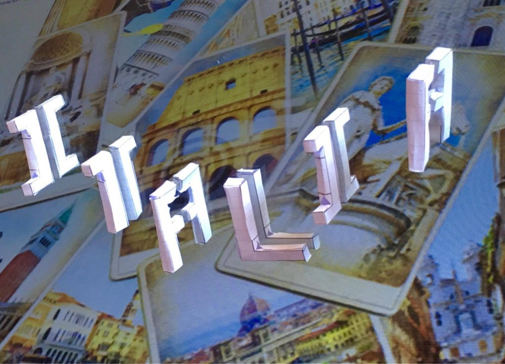 Títol: Itàlia gràcies a la simetria Autor: Daniella Gallo Dávila Categoria: 2n Cicle ESO Any: 2016 (accèssit) Centre: Institut La Sínia (Parets del Vallès)