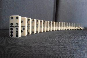 Fraccions amb efecte dominó