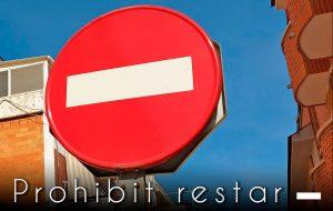 Prohibit restar